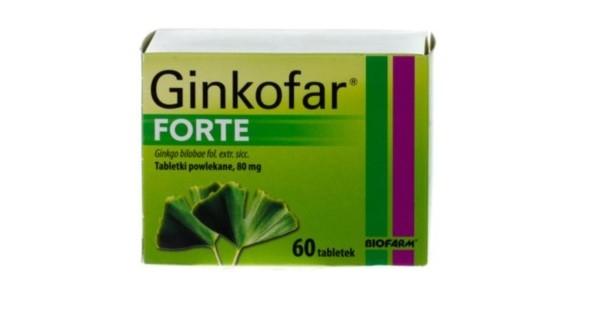 Ginkofar Forte - opinie osoby po 40